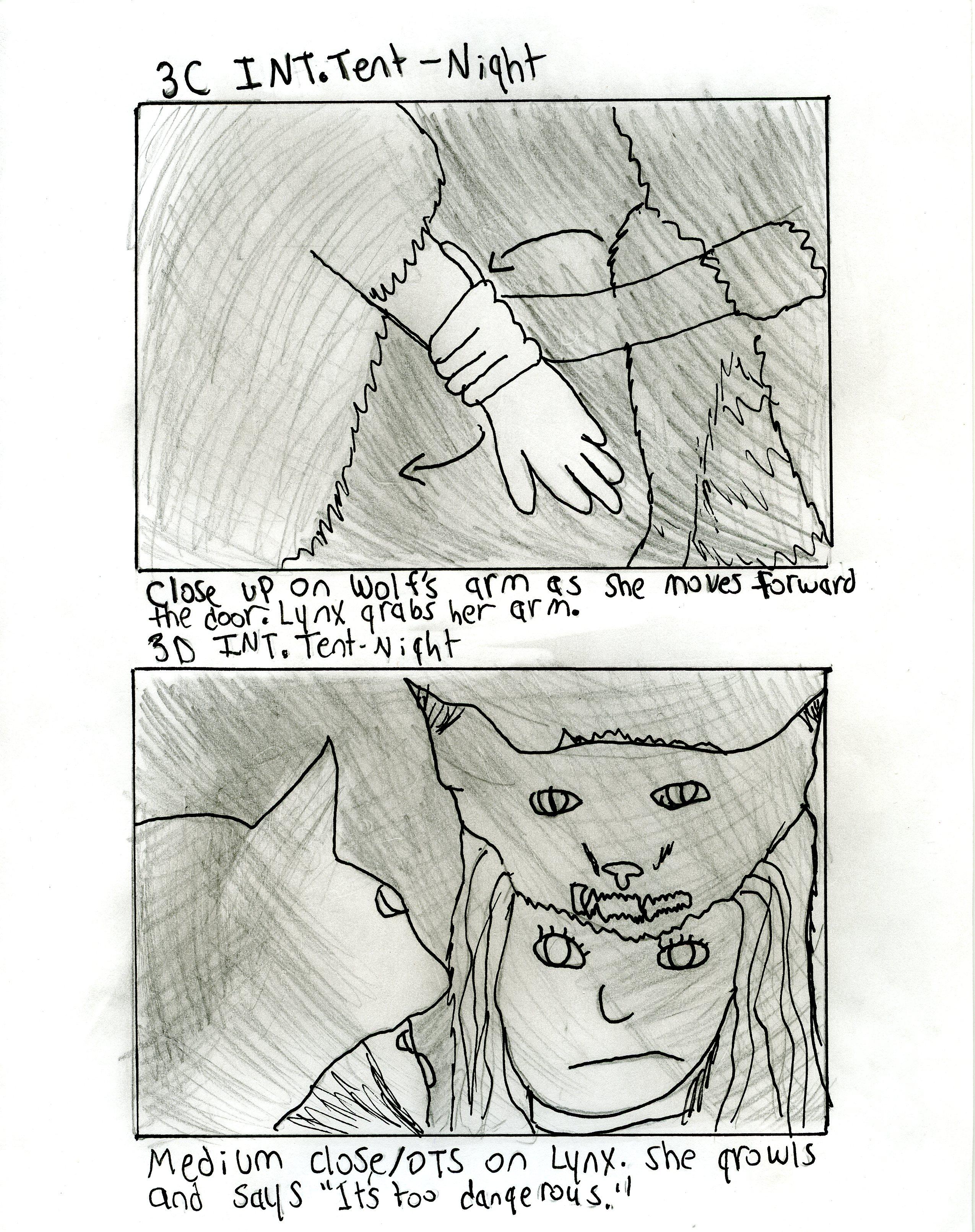 Baf Wolf Eats Lynx