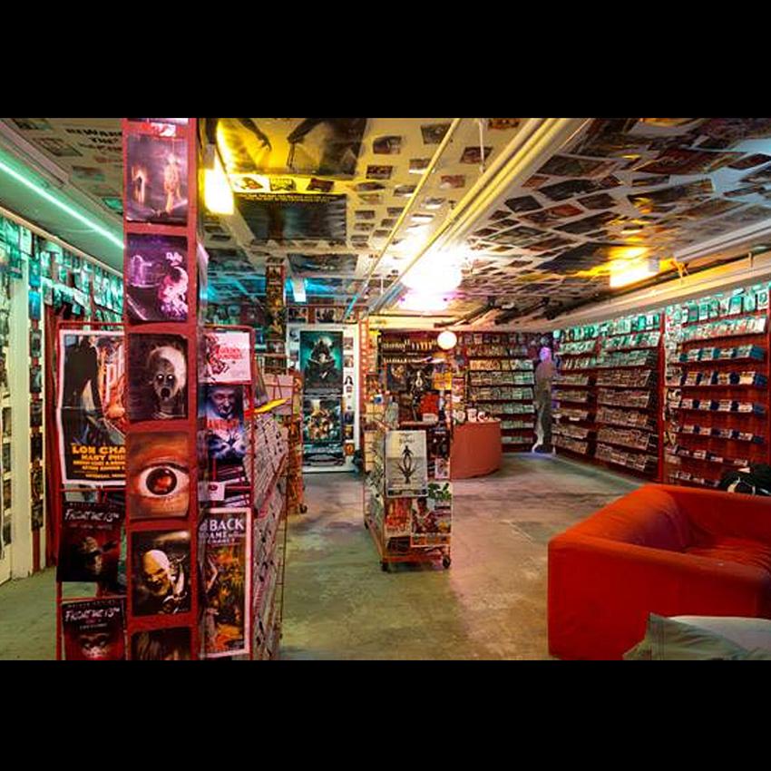 The Lobby DVD shop
